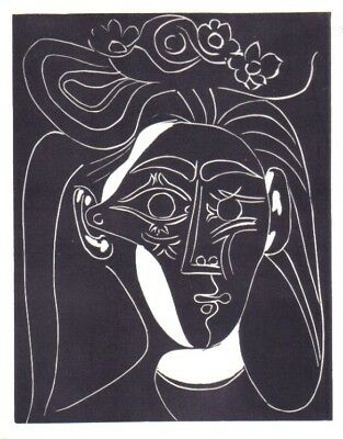 Pablo Picasso - Lithography Offset- Edition Harry. H.Abrams 1966