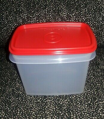 Tupperware within reach canister- 1pc- New- 800ml-Red seal-New