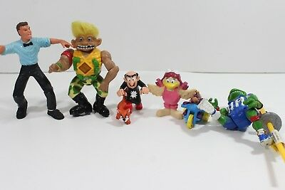 Mixed lot of 7 Vintage  90's Collectible Toys
