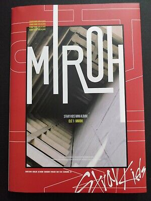 Stray Kids - Cle 1 : Miroh (4th mini)Limited Ver. CD+Photobook+Poster