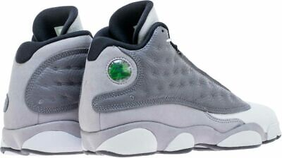 separation shoes eb33a dc5d3 Nike Air Jordan Retro 13 XIII SZ 5.5Y Atmosphere Grey White Black GS 884129-