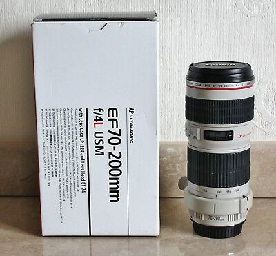 Canon EF 70-200mm F4L USM Lens - Lovely Condition - # 224741