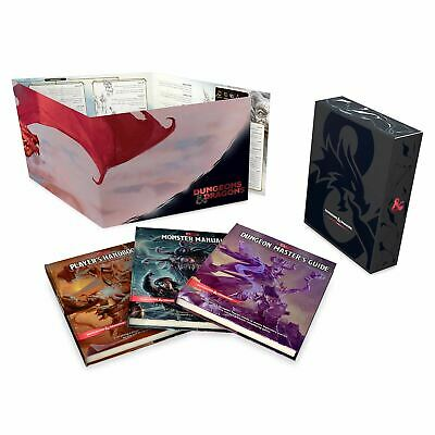 Dungeons & Dragons Core Rulebooks Gift Set Hardcover New