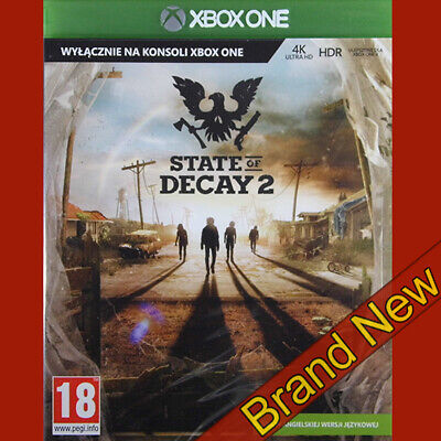 STATE OF DECAY 2 - Xbox ONE ~ Polish Cover, Game in English! Brand New & Sealed