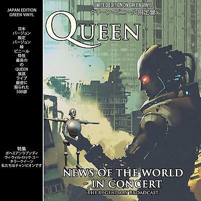 Queen - News Of The World - In Concert: Japan Edition On Green Vinyl