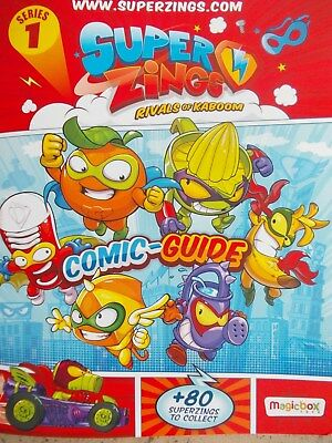 SUPERZINGS  Rivals of Kaboom  Series 1-    complete your collection   FREE POST