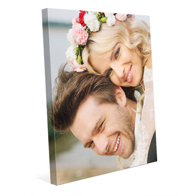 11x14 Your Picture Photo Art Printed - Custom Gallery Wrapped Canvas Thick Frame