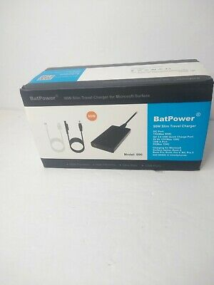 New BatPower 90W Slim Travel Charger Model S90 for Microsoft Surface and more
