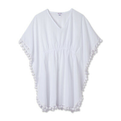 NWT Girl/'s Stella Cove Pink Pom Pom Cover-Up $60 Size 2