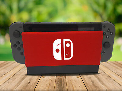 Happy Switch - Nintendo Switch Dock Sock Cover Geeky Gaming Screen Handmade