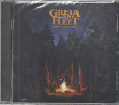 Greta Van Fleet CD Album From The Fires Led Zep