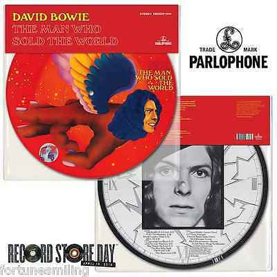 RSD 2016 David Bowie Man Who Sold The World Picture Disc.
