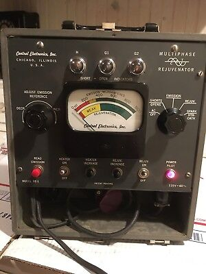 Central Electronics multiphase CRT rejuvenator model RE-1 - w/meter