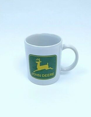 JOHN DEERE Licensed Product Gibson dishwasher safe White Ceramic Coffee Mug