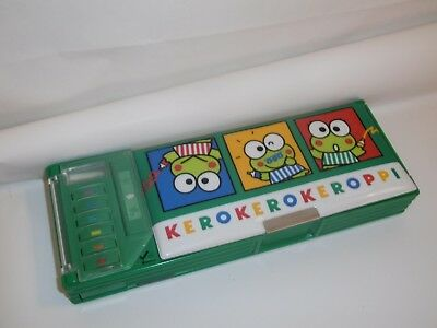 ASTUCCIO RIGIDO KEROPPI SANRIO 1993 multifunzion push button pencil  case frog