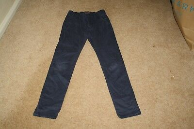 Boys Next Navy Chinos Jeans Age 10