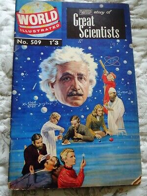 Rare Classics Illustrated /World Illustrated #509  Story of Great Scientists