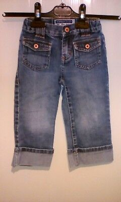 Boys Old Navy Jeans Leg 12 inch waist 9 inch blue demin 5 pockets cotton