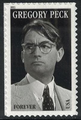 Scott 4526- Gregory Peck, Legends of Hollywood- Forever Stamp- MNH (S/A) 2011