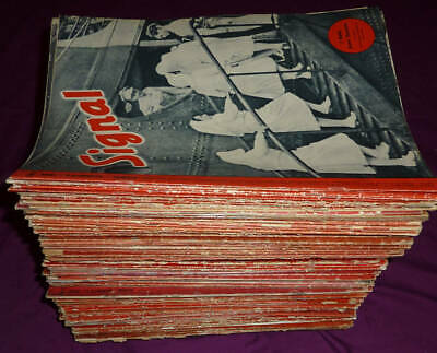 Signal  magazines, over 130 issues, 1940 - 1945