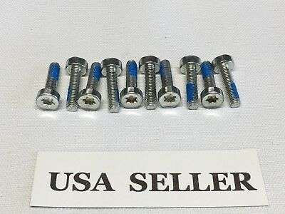 Lot of 4 SPLINE BOLT SCREWS M6X25mm for Stihl # 9022 371 1350  Bin 12