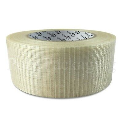 Crossweave Tape 50mmx50m Extra Strong Reinforced Any Qty