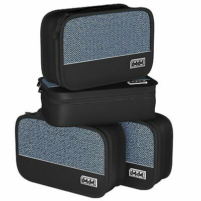 Small Packing Cubes for Travel - Luggage Organization 4 pcs - by Dot&Dot
