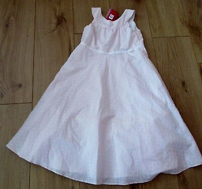 dress  Girls Party SUMMER GIFT Pretty Aged 7 - 8 - 9  Years pink next  cotton