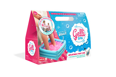 Gelli Spa Inflatable Foot Spa with Gelli Baff Essential Oils Ages 5-12