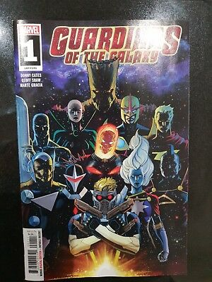 GUARDIANS OF THE GALAXY #1 (2019) 1ST PRINTING MARQUEZ MAIN COVER Marvel