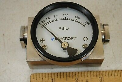 Ashcroft PSID Differential Pressure Gauge