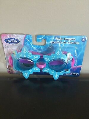 20757f268f1 DISNEY© FROZEN SWIM Goggles by Swimways for Girls Ages 3 and Up ...