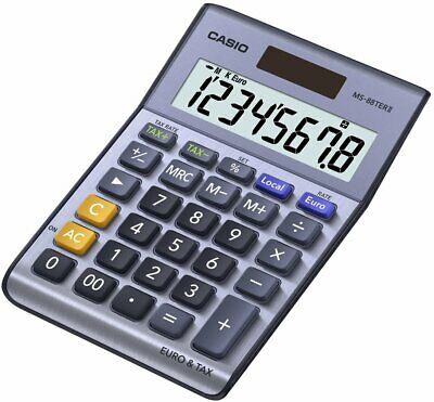 Casio MS88TERII Calculatrice de poche 8 chiffres