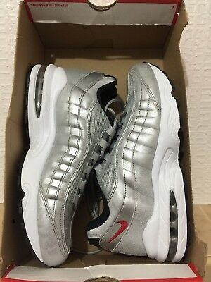 bf44874240 AUTHENTIC NIKE AIR Max 95 ® ( GS UK Size 5 EU 38 ) Anthracite / Red ...