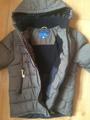 """""""M&S"""" Warm/ Quilted/ Fleece Lined Puffer Jacket Age 11-12y Ex Cond"""