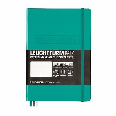 Leuchtturm1917 BULLET JOURNAL 355280 - Carnet Medium (A5) Couverture Rigide, 240