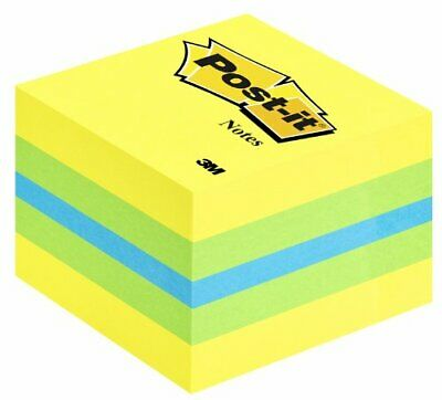 Post it Mini Cube Citron 51 x 51mm - 400 feuilles
