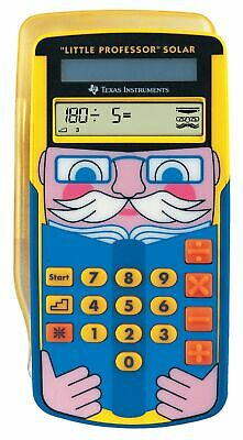 Texas Instruments LPROFSOLAR Little Professor Calculatrice solaire d'apprentissa