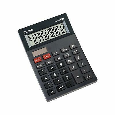 Canon AS-120 Mini-calculatrice de bureau à  12 chiffres