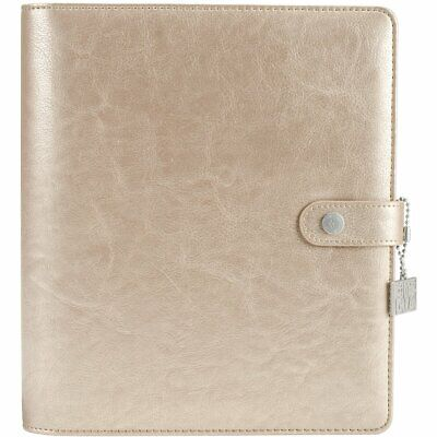 Simple Stories Carpe Diem Platinum Posh Planner, Marron, A5