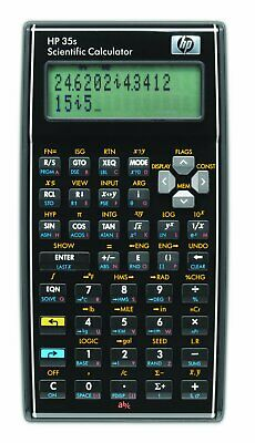 HP HP35s Calculatrice Scientifique programmable Livrée avec pochette