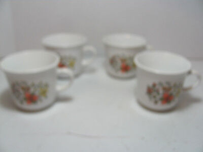 Corelle By Corning Indian Summer Set Of 4 Cups