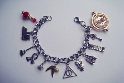 Bracciale TRIANGOLO DEATHLY inspired HARRY POTTER Giratempo Hermione