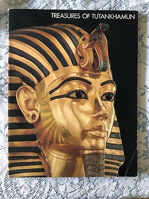 Treasures of Tutankhamun 1976 Metropolitan Exhibit Museum Catalogue