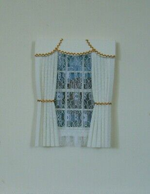 Dolls House Curtains With Full Nets Selection #3