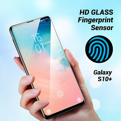 For Samsung Galaxy S10 Plus Full coverage Tempered Glass Screen Protector