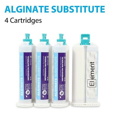 Element ALGINATE SUBSTITUTE VPS PVS Dental Impression Material  4 x 50ML