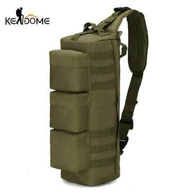 1000D Tactical MOLLE Bag Military Sling Single Shoulder Backpack Army Bags