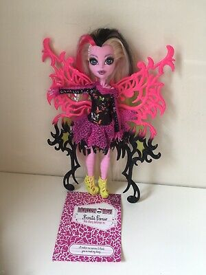 Monster High Freaky Fusion Bonita Femur Doll Hybrid Skeleton EUC
