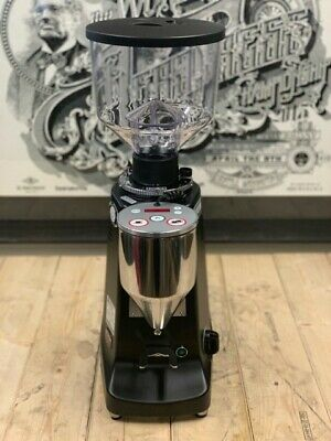 Mazzer Major Brand New Black Electronic Espresso Coffee Grinder Cafe Commercial
